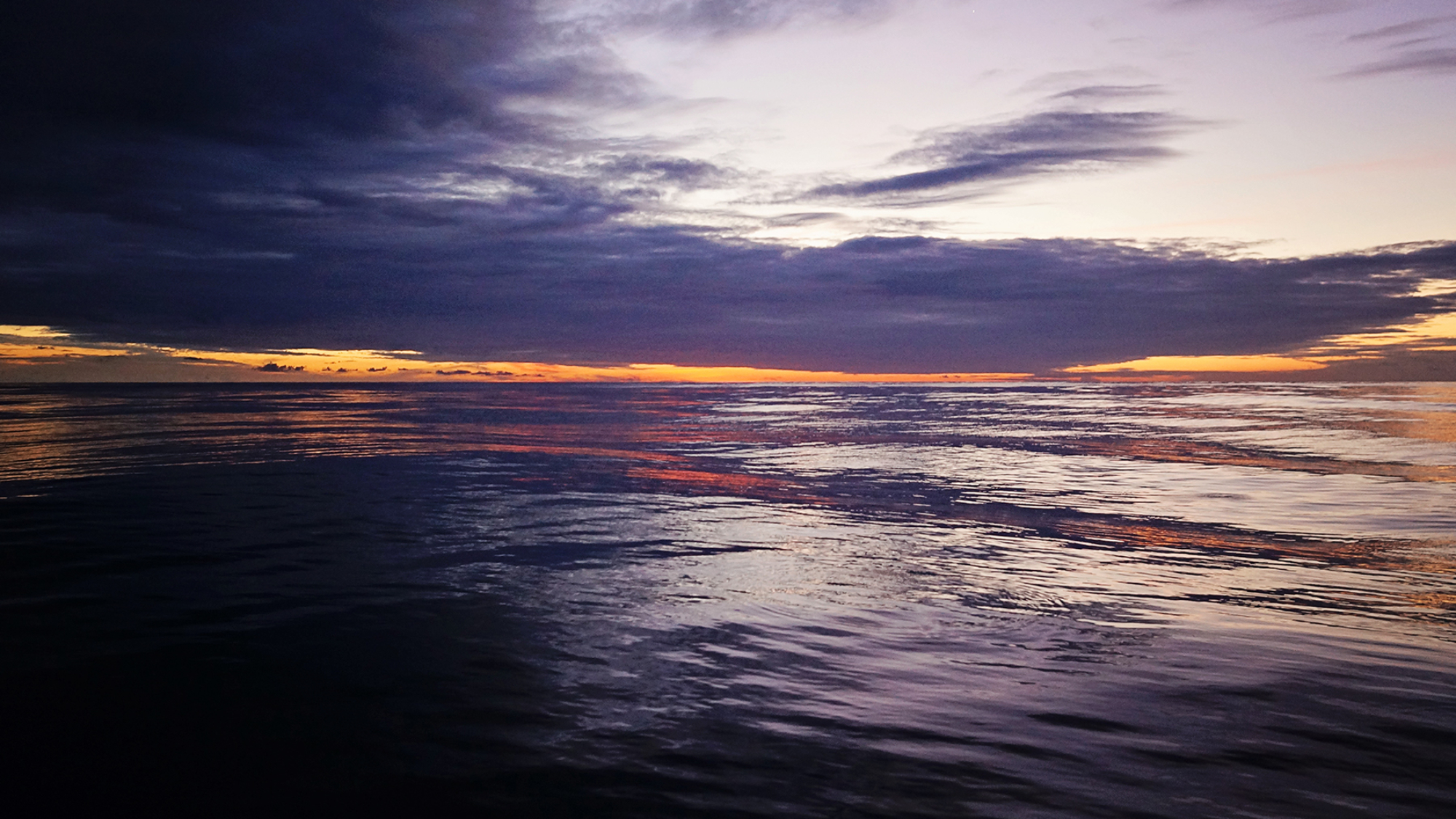 mid-Atlantic sunset