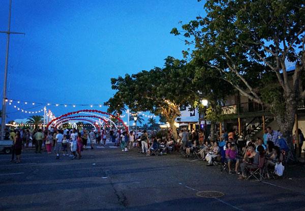 St. George town square, Bermuda