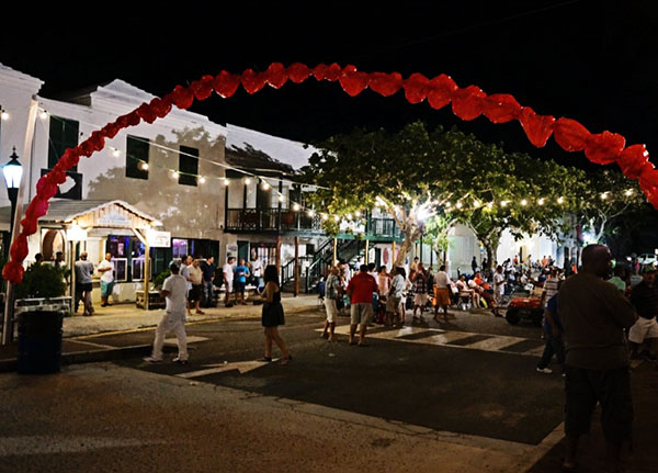 celebration in St. George Bermuda