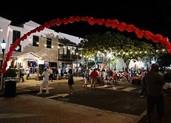 celebration in St. George Bermuda