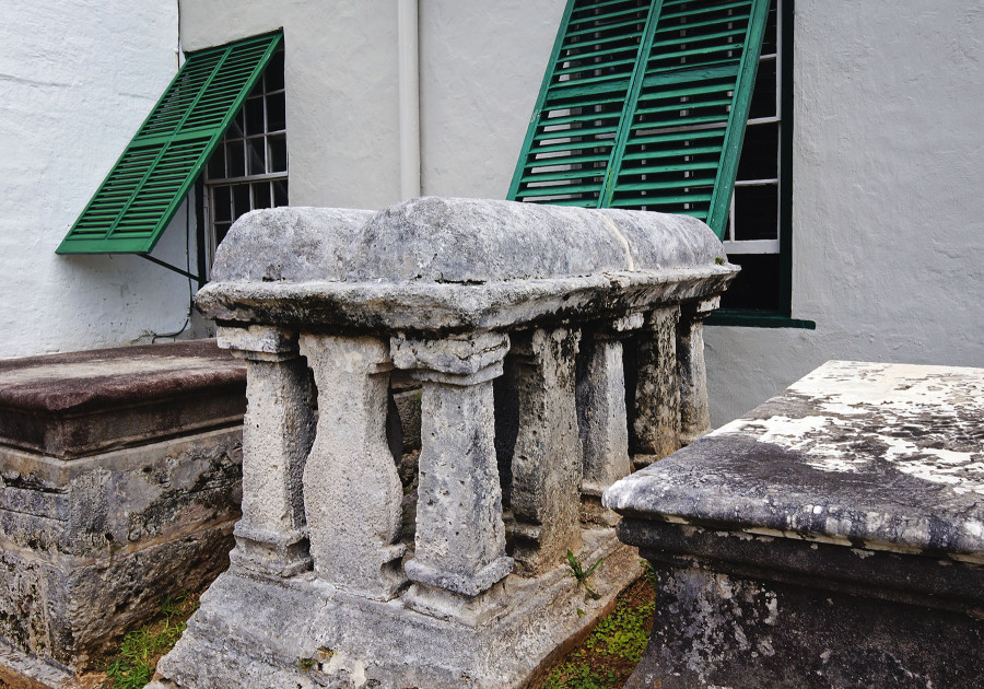 cemetery St. Peter's Church, Bermuda