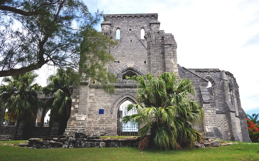 unfinished church, St. George, Bermuda