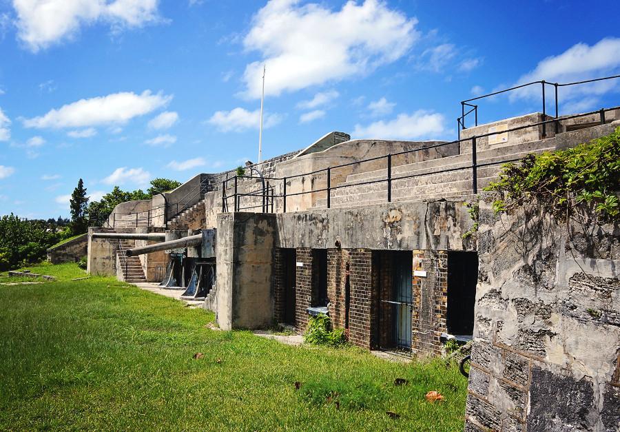 random fort, St. George, Bermuda