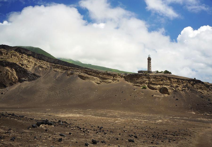 Lighthouse at Capelinhos, Faial, Azores