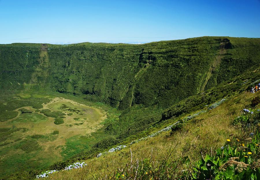 caldera, Faial, Azores