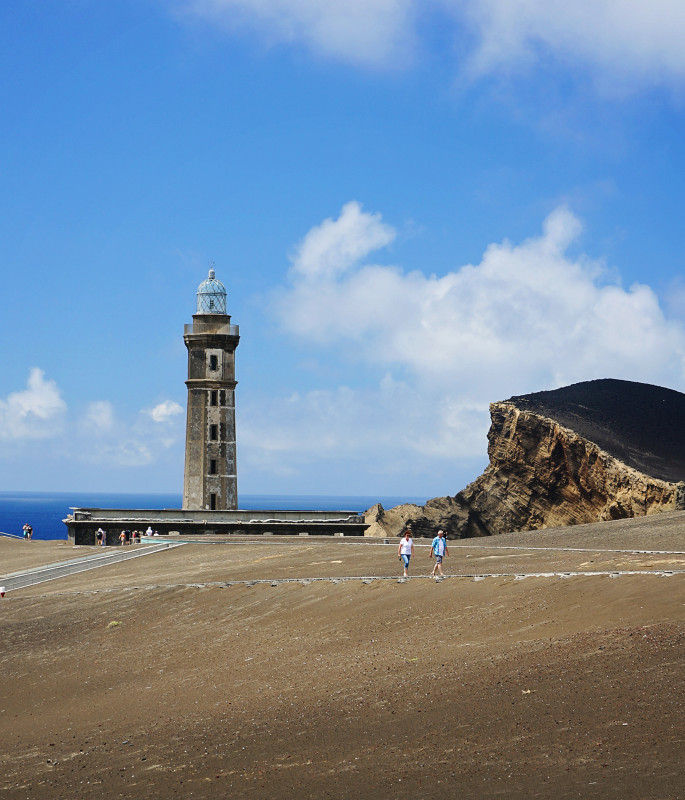 Lighthouse do Capelinhos, Faial, Azores