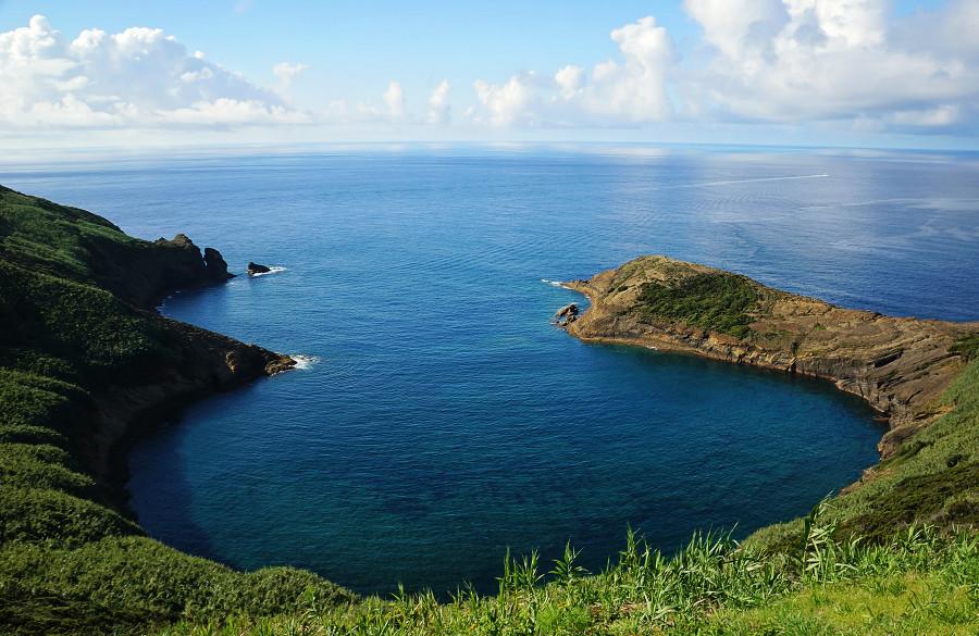 bay next to Monte de Guia, Horta, Faial, Azores