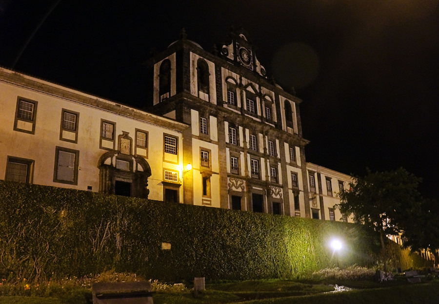 Horta at night, Faial, Azores