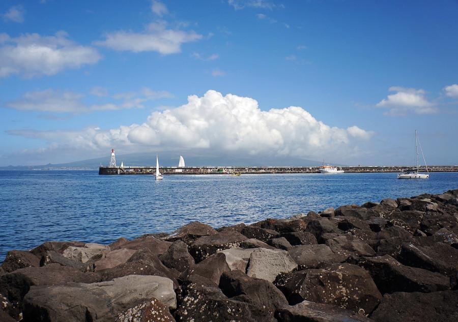 harbor of Horta, Faial, Azores