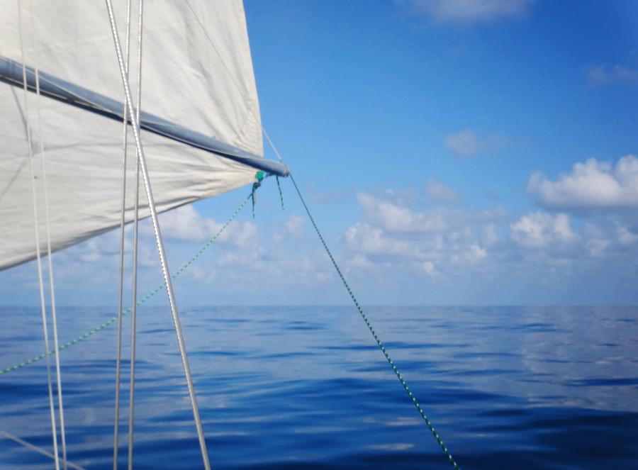 calm day on the Atlantic Ocean