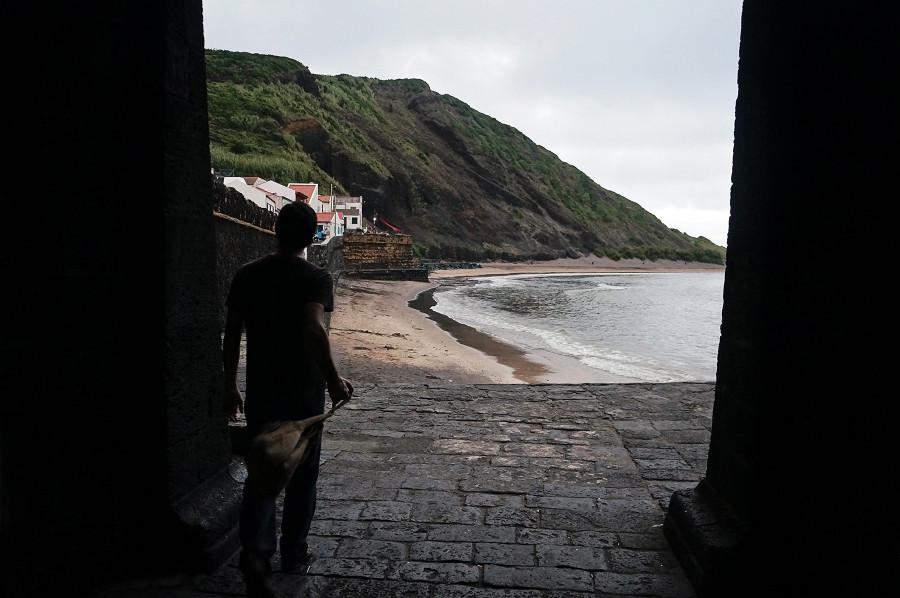 walking beach of Porto Pim, Horta