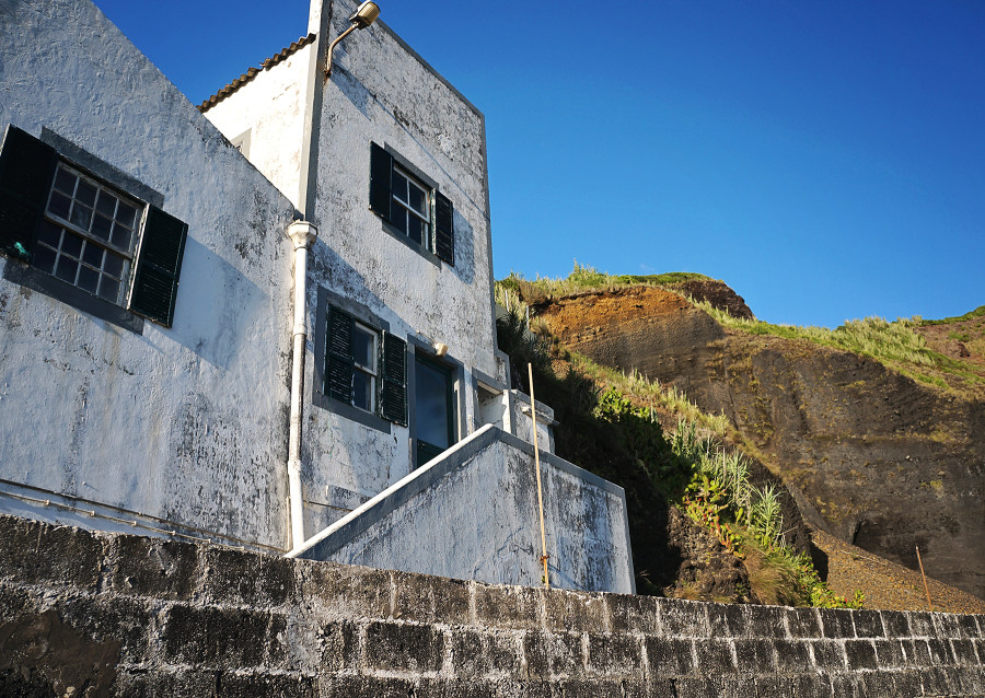 house at Porto Pim, Horta, Azores