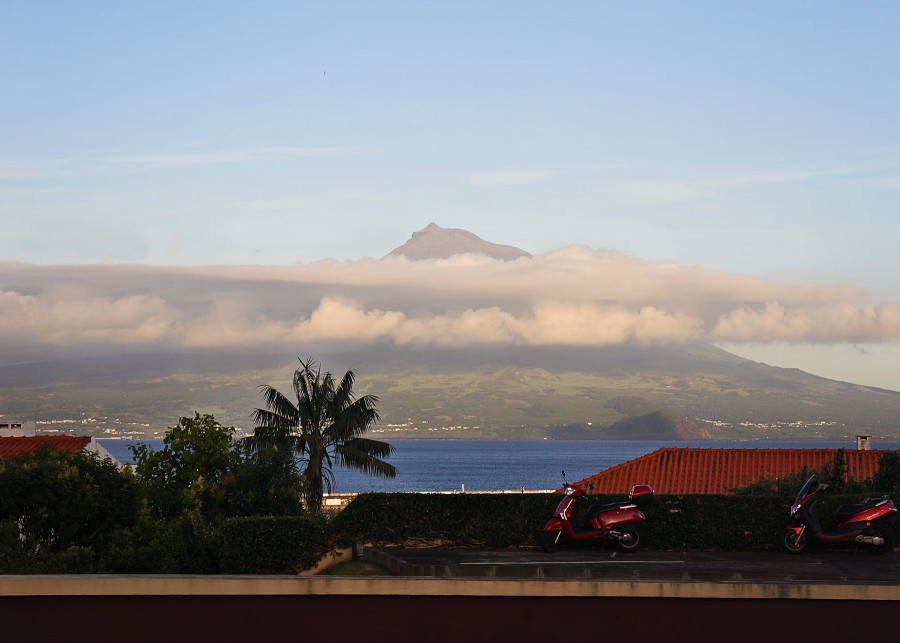 views of Pico, Azores