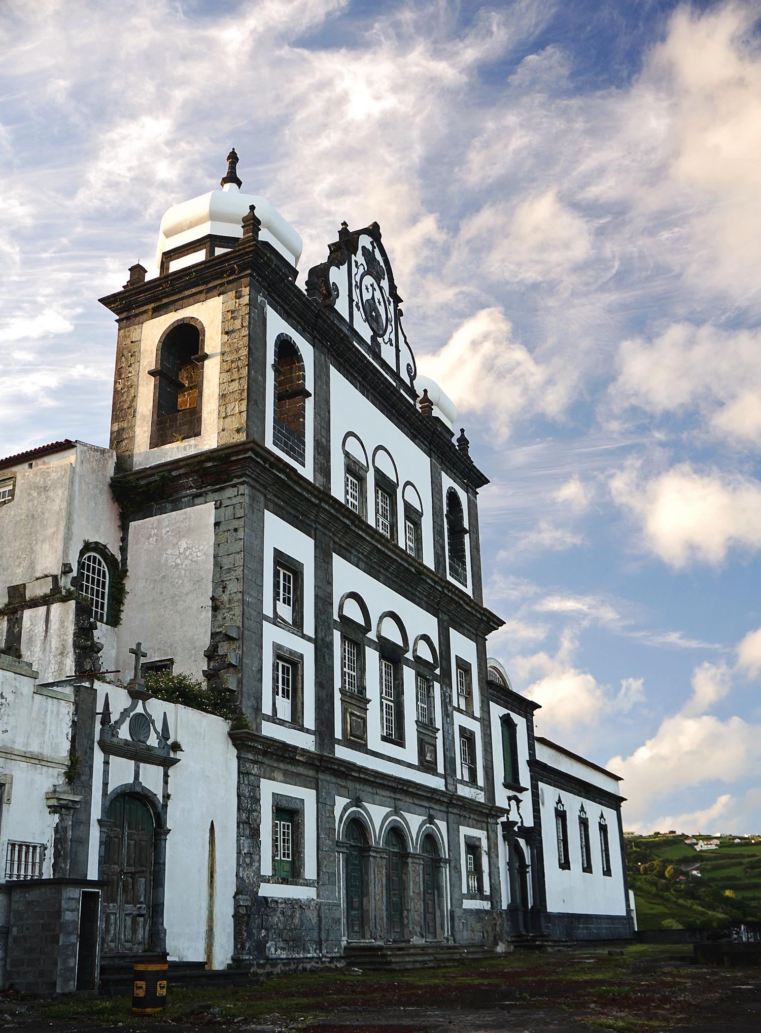 abandoned church, Horta, Azores