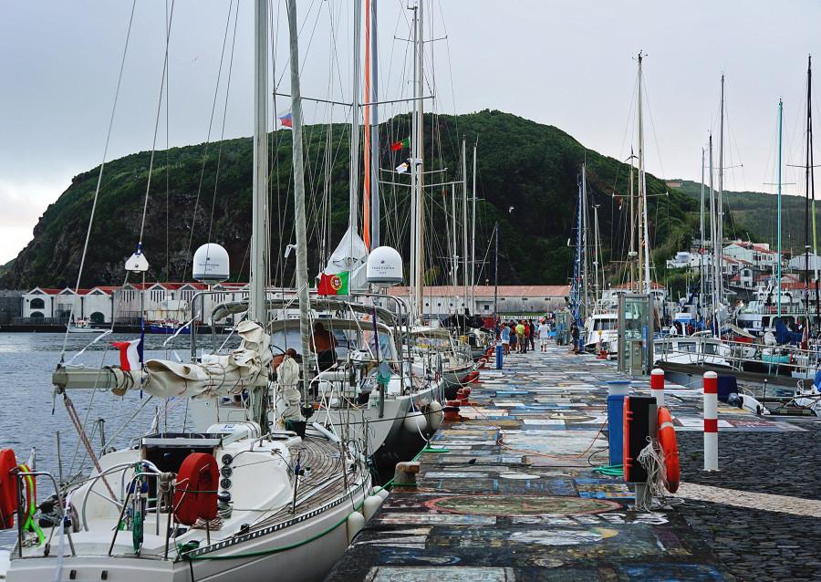 Horta fuel dock, Azores