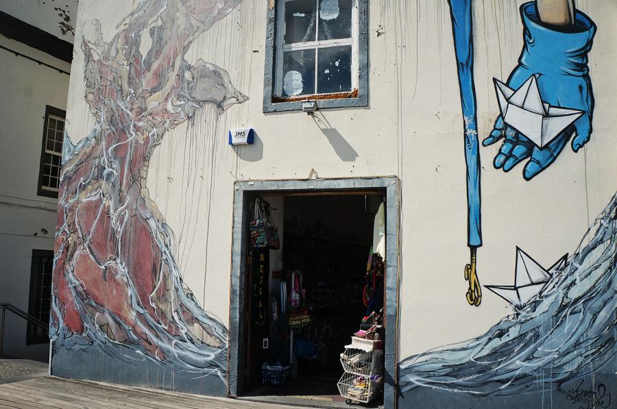 wall art of Ponta Delgada, Azores