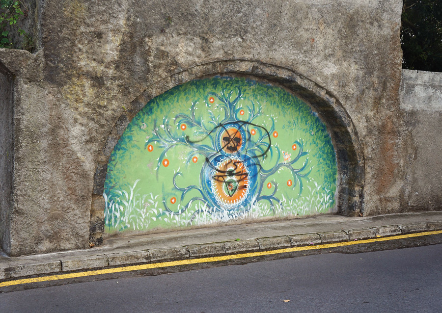 wall art  of Ponta Delgada