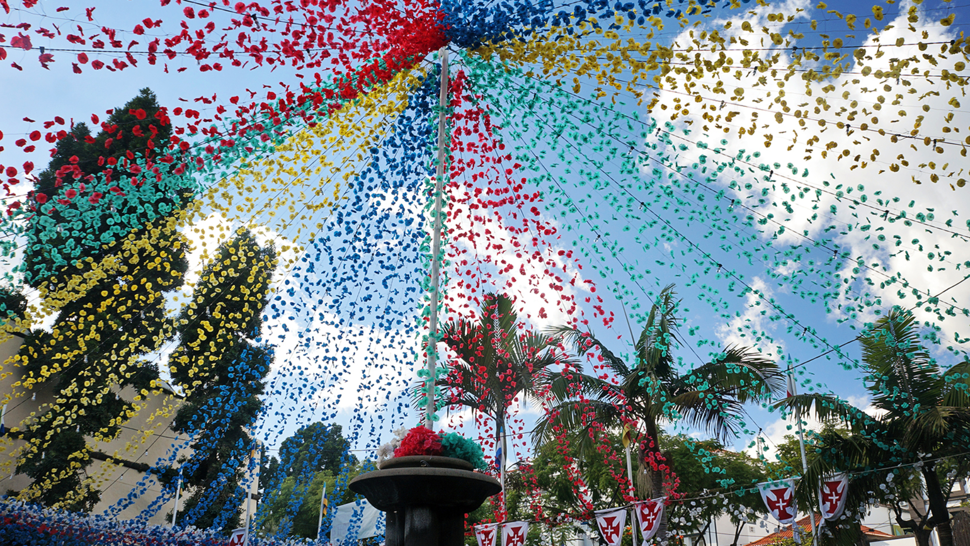celebration in Funchal, Madeira
