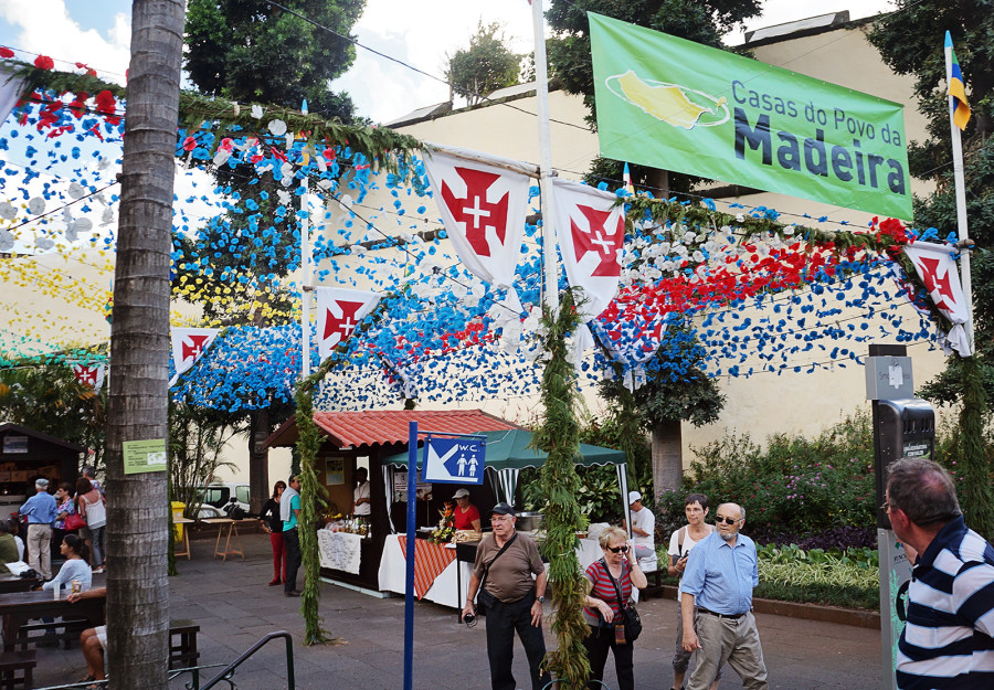 celebration in Funchal Madeira