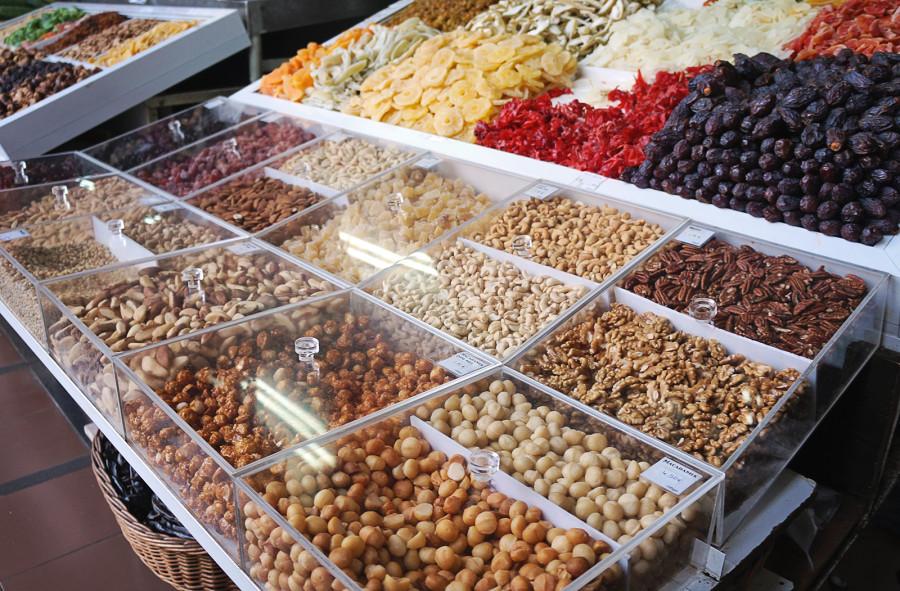 nuts at Funchal Market