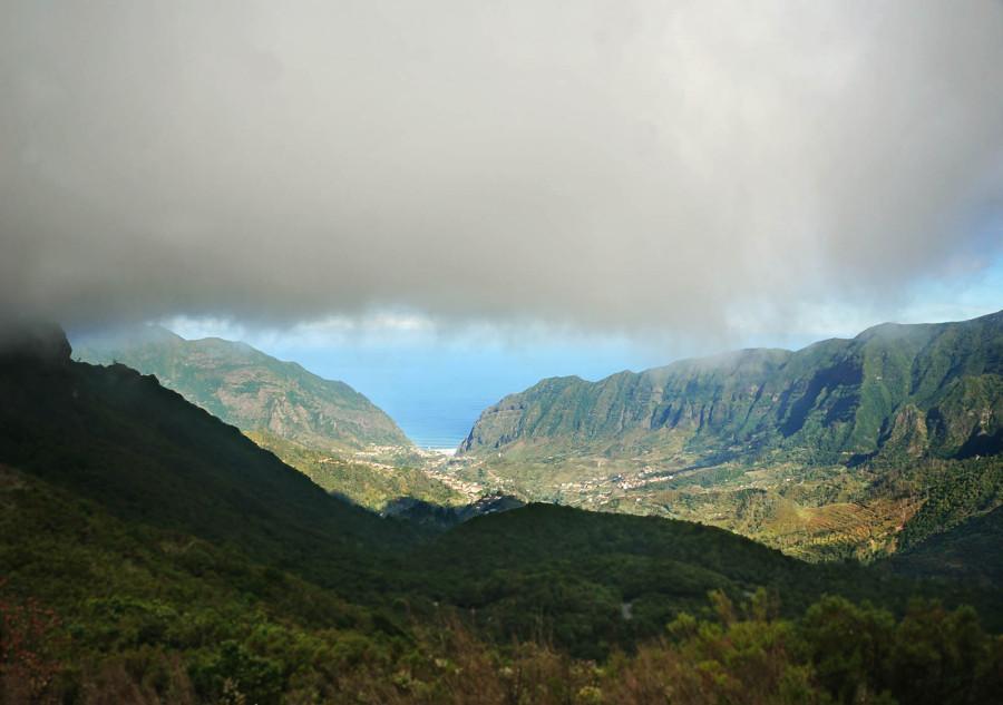 overlooking Sao Vicente, Madeira