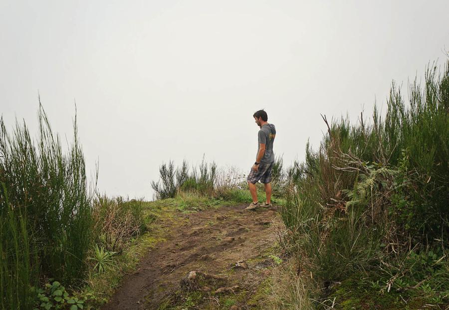 hiking Pico Ruivo