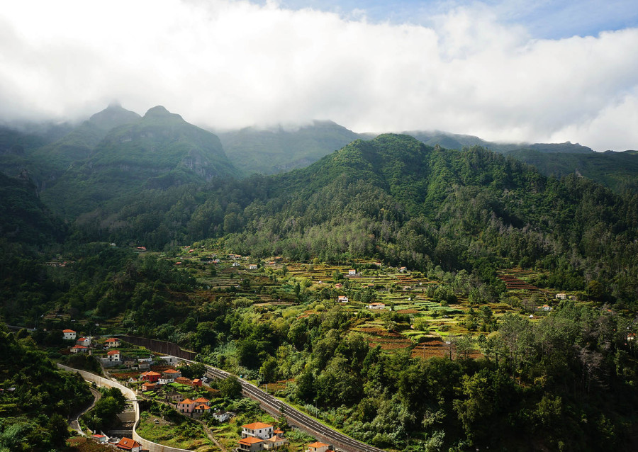 outskirts of Sao Vicente