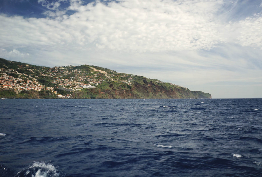 Funchal from the water
