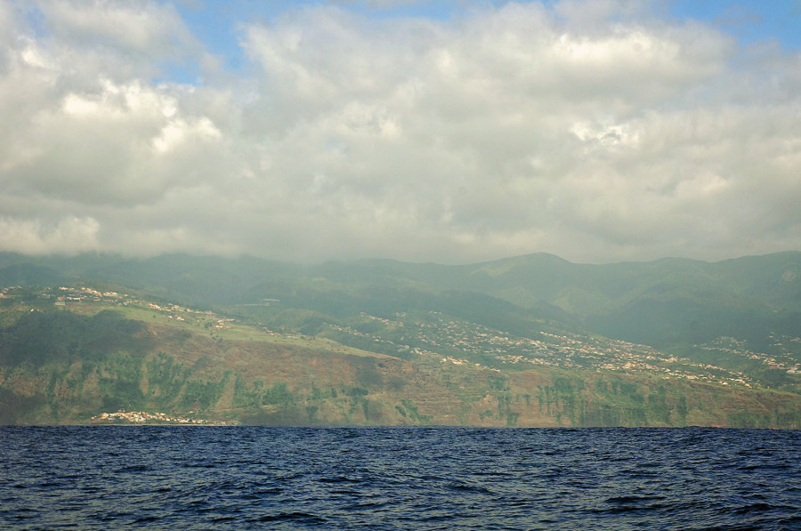 cliffs of west Maderia