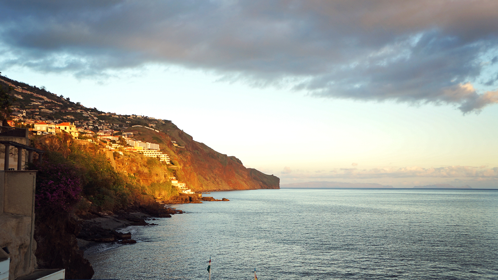 sunset in Madeira