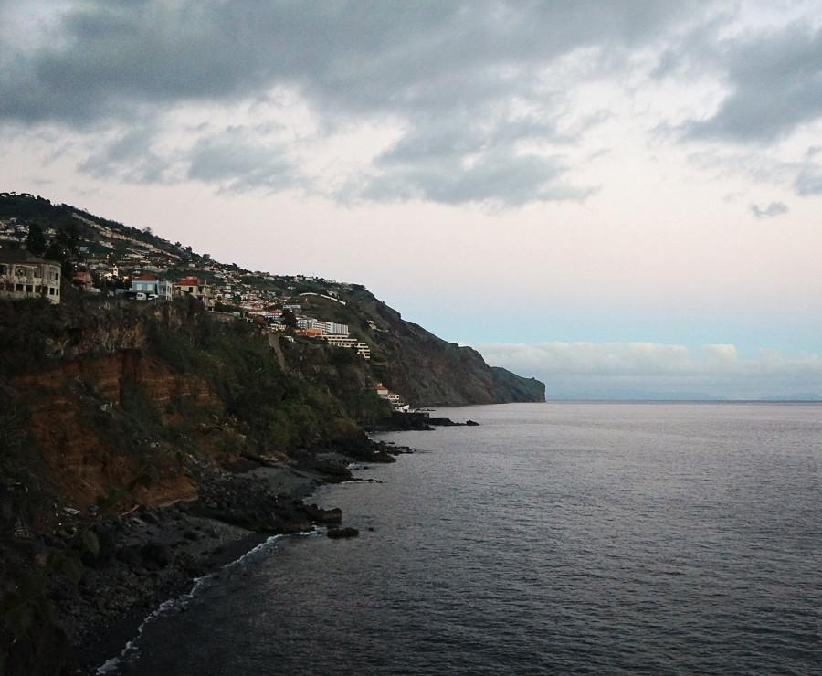 Madeira at dusk