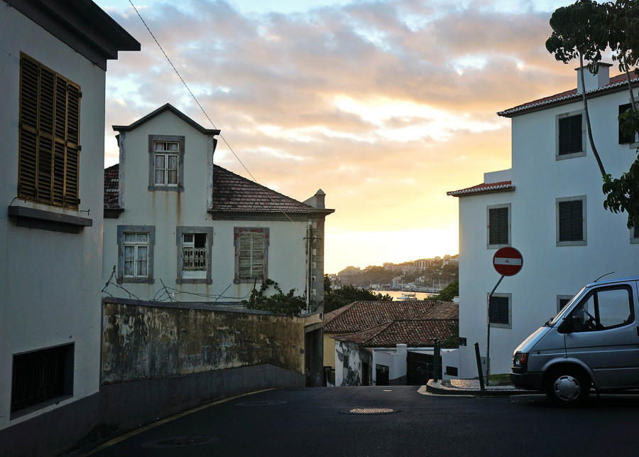 outskirts of Funchal, Madeira