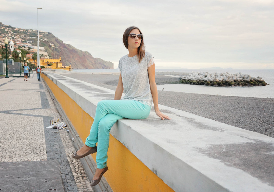 Jessica in Funchal, Madeira