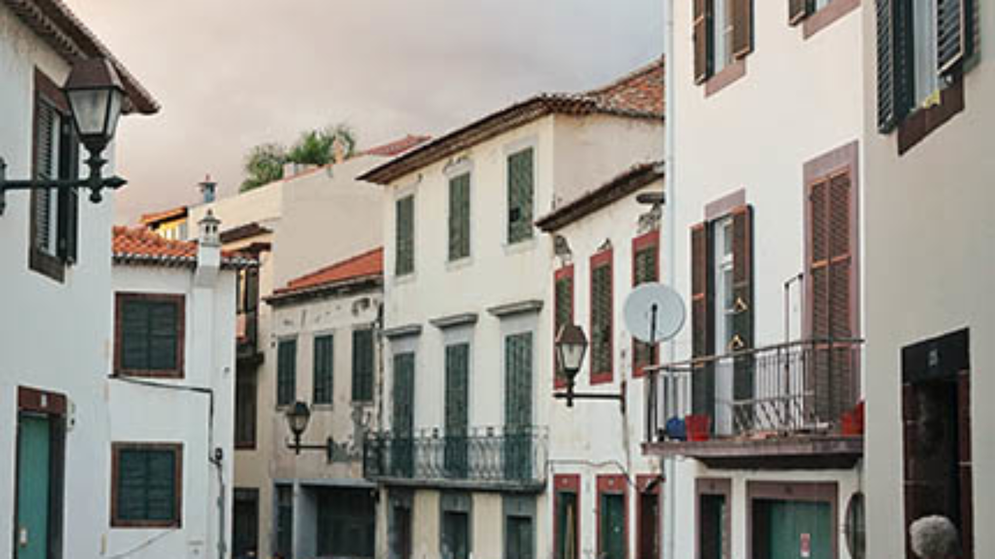 old town Funchal Madeira