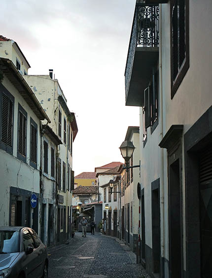 old town Funchal, Madeira