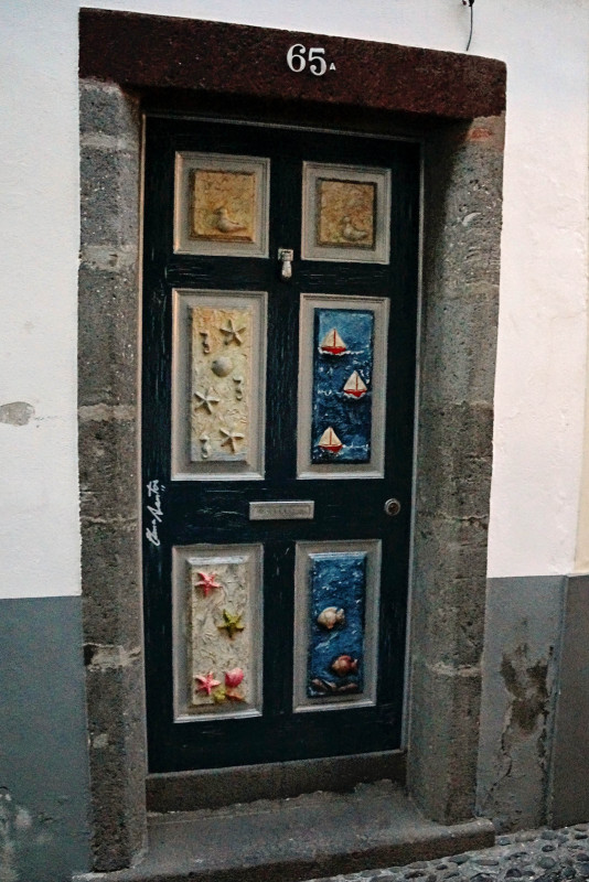 doors of Funchal,  Madeira