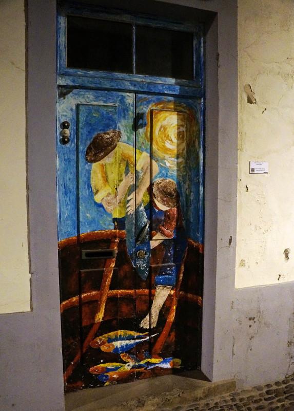 doors of Funchal, Madeira