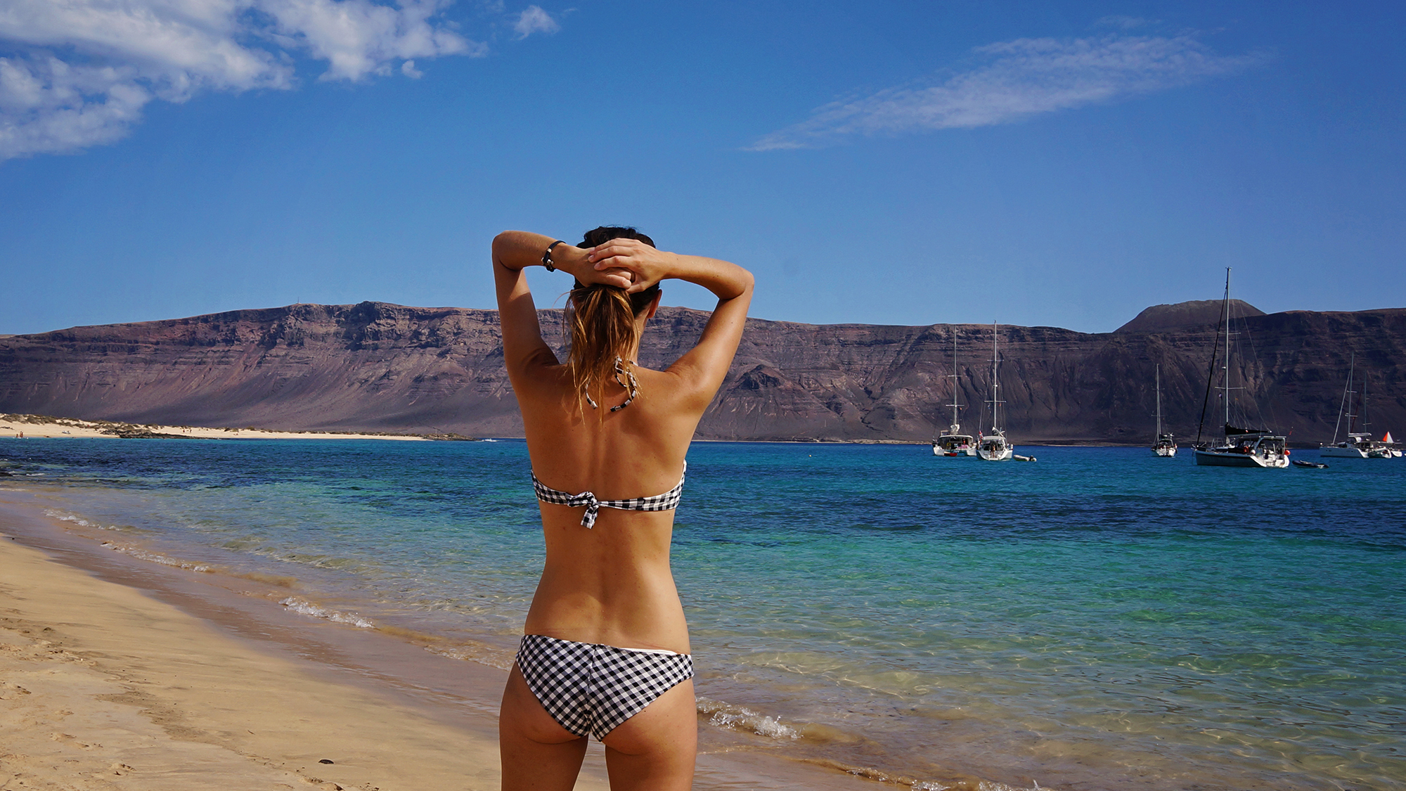 Playa Francesca, Isla Graciosa, Canary Islands
