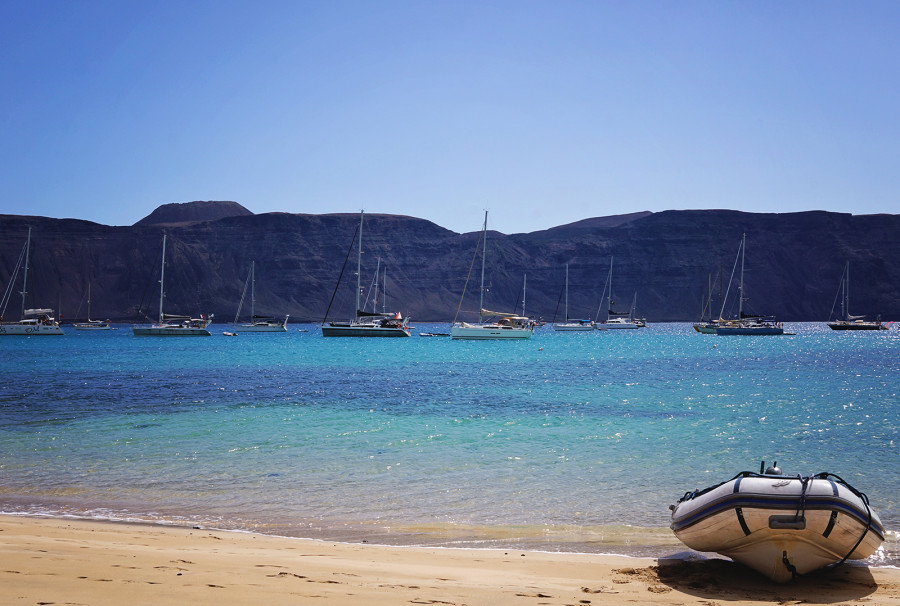 Playa Francesca, Isla Graciosa, Canaries