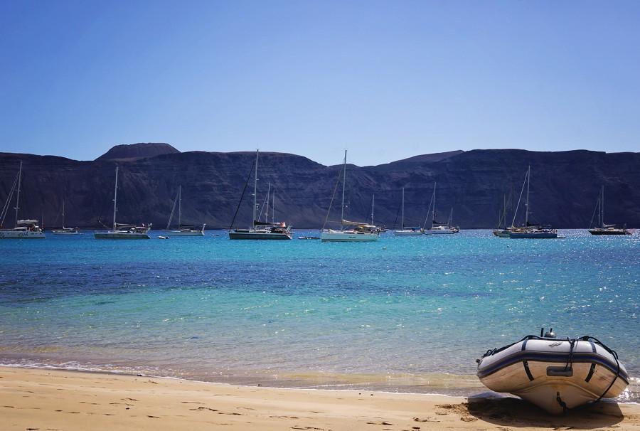 Playa Francesca, Isla Graciosa, Canaries