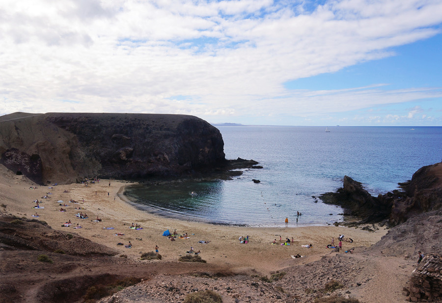 Playa Papagayo, Lanzarote, Canary Islands