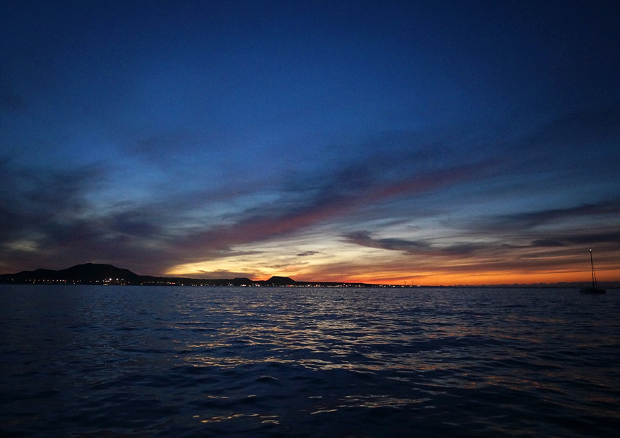 sunset over Fuerteventura, Canary Islands