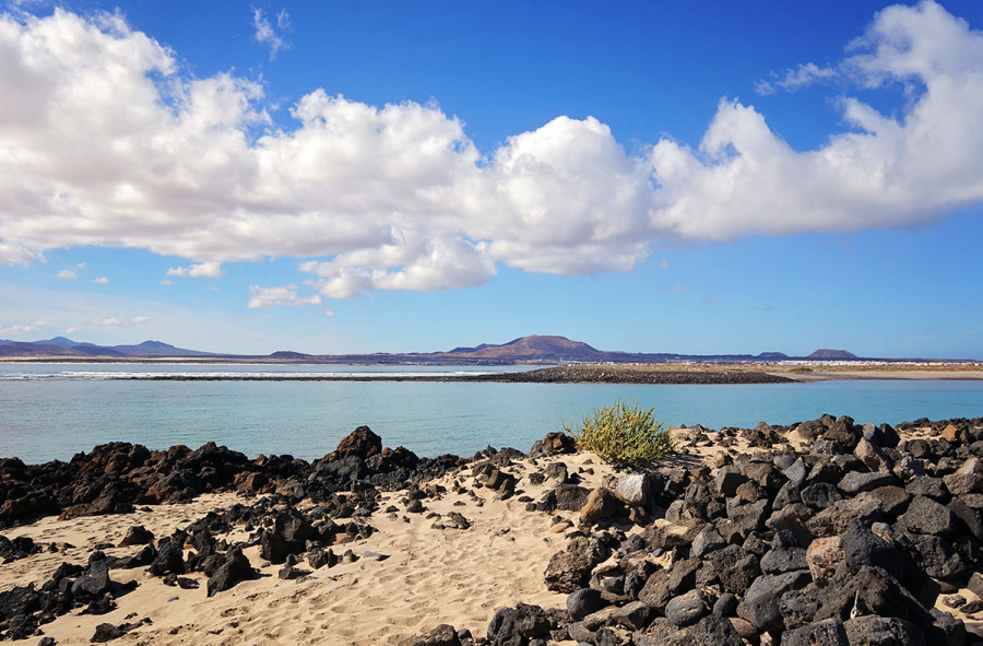 beach at Los Lobos, Fuerteventura