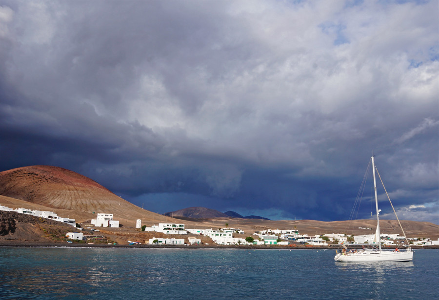 storms over Lanzarote
