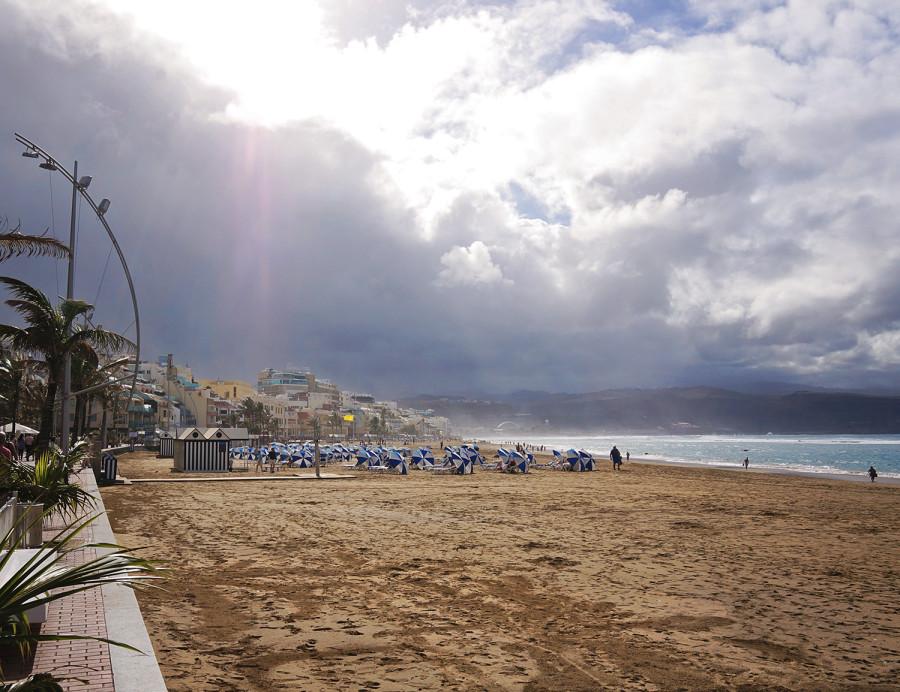 Playa las Canteras, Las Palmas de Gran Canaria