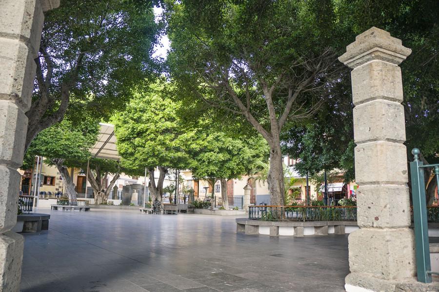 plaza at Agüimes Gran Canaria