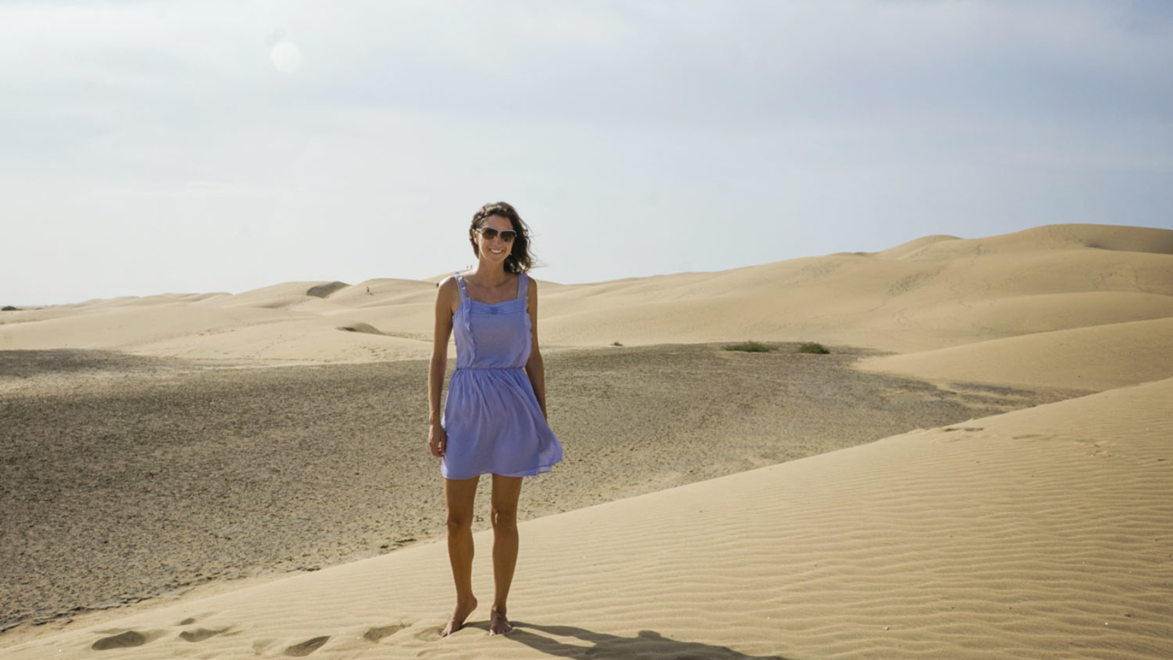 Jessica at Maspalomas Dunes