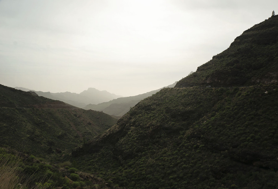 hillsides of west Gran Canaria