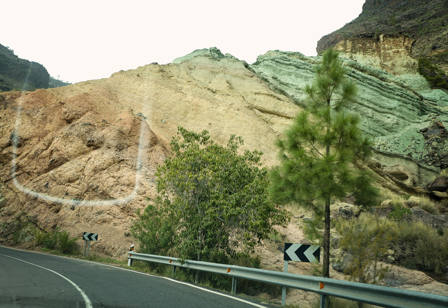 rainbow rocks - Gran Canaria