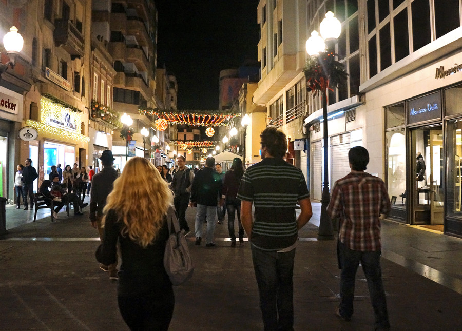 pedestrian walkway, Las Palmas